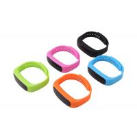 Buy cheap Hot selling touchscreen display smart bracelet smart band E02 from wholesalers