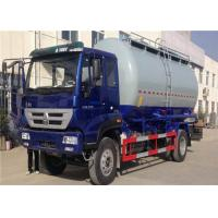 Buy cheap HOWO 6 Wheel Cement Carrying Trucks , 4x2 10m3 Bulk Tank Truck High Safety / Reliability from wholesalers