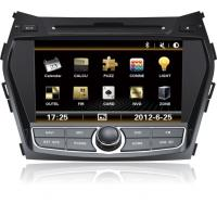 Buy cheap 8'' 2 DIN indash Car dvd player with gps/BT/radio/3g for Hyundai IX45 from wholesalers