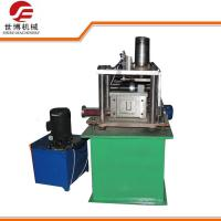 Buy cheap Automatic U Channel Storage Rack Roll Forming Machine With Hydraulic Cutter from wholesalers