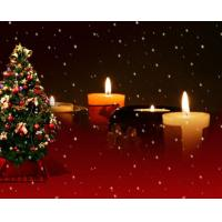 Buy cheap Fantastic Candles Wooden Decorative LED Canvas Lighted Wall Art Applied in Home from wholesalers