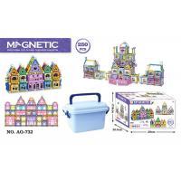 Buy cheap 168 Pcs Magetic Plastic Building Blocks Educational Toys / Construction Building Sets Toys product