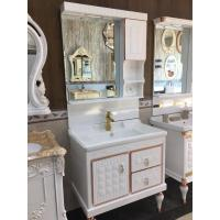 Buy cheap Antique Pvc Vanity Cabinets Soft Close Door Contemporary Bathroom Vanity Sets from wholesalers