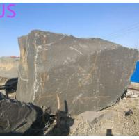 Buy cheap Shanxi Black Granite Block Stone for Monument/Countertop/Fireplace/Engineering Slabs from wholesalers