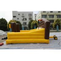 Buy cheap Customized Inflatable Sports Games / Blow Up Riding Bull Rodeo Machine from wholesalers