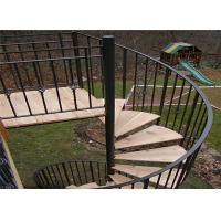 Buy cheap Staircases for small spaces non slip stair treads spiral stairs outdoor spiral staircases from wholesalers