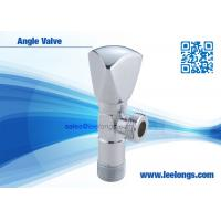 Buy cheap Brass Angle Valve Sanitary Ware Accessories With Zinc Triangle Handle from wholesalers