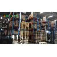 Buy cheap Metal Teardrop  VNA Racking System ,  Yellow  Warehouse Rack Numbering System from wholesalers