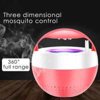 Buy cheap Full range Ultrasonic Mosquito Repellent LED Outdoor Insect USB Light 360 degree from wholesalers