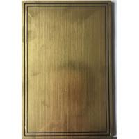 Buy cheap Funeral Name Plate Plastic Casket Hardware product