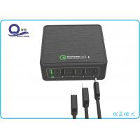 Buy cheap 5 Ports Multiple USB Charging Station Quick Charger 3.0 with usb Type C Adapter from wholesalers