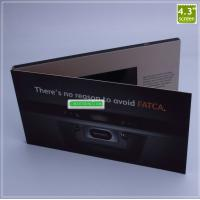 Buy cheap Hot Selling Custom 4.3 Inches Lcd Video Card,Video Brochure,Video Booklet For Wedding Invitation from wholesalers
