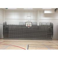 Buy cheap Wall Attached Unit Platfrom Retractable Bleacher Seating Solution For Indoor Stadium from wholesalers