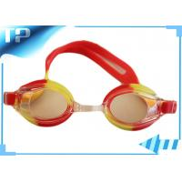 Buy cheap Silicon Prescription Racing Swimming Goggles For Kids / Clear Swim Glasses from wholesalers