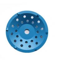 Buy cheap Blue PCD Diamond Cup Wheel Grinding Disc Super Abrasive For Coating Removing from wholesalers