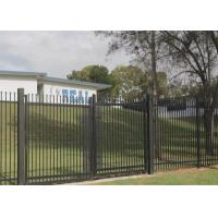 Buy cheap PVC Coated Ornamental Spear Top Security Steel Tubular Fence in Garden,Home,Factory, School ,Villa from wholesalers