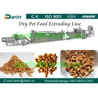 China Dog / cat / bird / fish / Pet Food Making Machine - China Pet Feed Production Line with WEG Motor Three Year Guarantee on sale