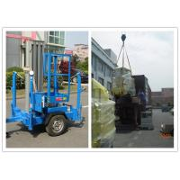 Buy cheap Trailer Type Vertical Mast Lift , 6 Meter Personnel Lift Platform For Outdoor Working from wholesalers