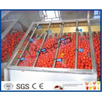 Buy cheap Electric Tomato Juicer Tomato Paste Making Machine , Tomato Juice Machine from wholesalers