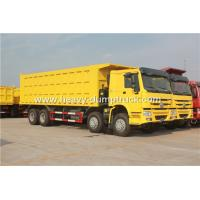 Buy cheap SINOTRUK HOWO 8X4 12 Wheelers Dump Truck For Mining Site And Construction Project product