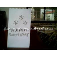 Buy cheap handicraft tea light paper candle lantern bags white tealight candles in bag product