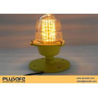Buy cheap Airfield Runway Lighting Amber Lights Casting Aluminum Material for Private Plane Takeoff from wholesalers
