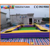 Buy cheap Giant Pool Table Soccer Inflatable Snooker Football Inflatable Snooker Field from wholesalers