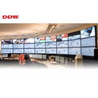 """Buy cheap 55"""" curved video wall 500nits brightness 1080p high resolution 3.5mm snarrow bezel curved tv DDW-LW550HN11 product"""
