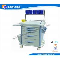 Buy cheap Luxurious hospital dressing trolley , ABS Anesthesia mobile medical cart from wholesalers
