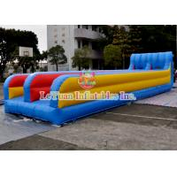 Buy cheap Customized Inflatable Sport Games , Mixing Color Inflatable Double Slide from wholesalers