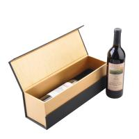 Buy cheap Spot Goods Luxury Wine Packing Boxes Fancy Paper Magnetic Closer Gold Hot Stamping product