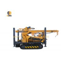 Buy cheap Hydraulic Diesel Engine Rock Drilling Rig 200m Crawler Mounted Heavy Duty from wholesalers