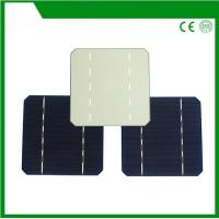 Buy cheap 125*125mm mono solar cell, mono-crystalline silicon solar cell with 2BB / 3BB for cheap sale from wholesalers
