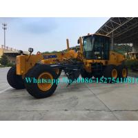 Buy cheap XCMG Official Road Construction Grader / Road Builders Equipment 125kW/2200rpm from wholesalers
