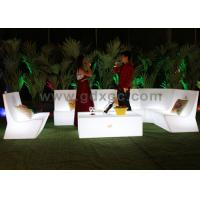 Outdoor color changing LED sectional sofa,Starlish Brand Sofa