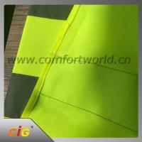 Buy cheap 100% Polyester Geen Reflective Safety Vests With Tricot Fabric Design from wholesalers