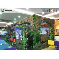 Buy cheap Interactive 7D Movie Theater Box With Specail Design , Like Dinosaur Box product