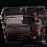 Buy cheap 5 drawer acrylic makeup organizer from wholesalers