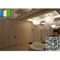Buy cheap Operable Glass Room Dividers / Partition Wall System On Wheels For Meeting Room from wholesalers