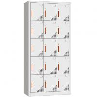 Buy cheap Office metal furniture colorful clothing cabinet locker with bays and tiers from wholesalers