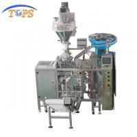Buy cheap Zipper Bag Doypack Packaging Machine Heat Sealable No Dump 3mm Thickness Fabrication product