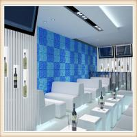 Buy cheap Durable Wall PVC Material Optics Fabric Covering Wall Paneling from wholesalers