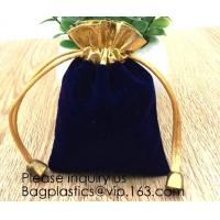 Buy cheap Velvet Drawstring Cloth Jewelry / Gift / Headphones Bag / Pouches Candy Gift Bags Christmas Party Jewelry, Gifts, Event from wholesalers