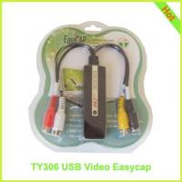 TY306: USB Video EasyCap USB 2.0 Video Adapter with Audio