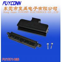 Buy cheap 180 Degree Plastic Telco 50 Pin IDC Female Type Connector 25 Pairs product