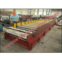 Buy cheap Cameroun Aluzinc Roofing Sheet Roll Forming Machine With Electric Decoiler from wholesalers