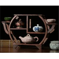 Buy cheap Chinese wooden shelf in the restoring ancient ways with special feature made in factory, Support low MOQ from wholesalers