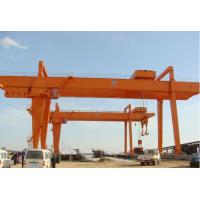 Buy cheap High Power Double Girder Rail Mounted Gantry Crane 15 Ton CE / ISO Certificated from wholesalers
