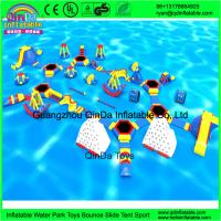 Buy cheap Guangzhou QinDa Toys Giant Inflatable Water Park For Sale from wholesalers