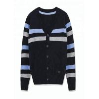 Buy cheap Long Sleeve Knitting School Uniform Sweaters Cotton And Acrylic Material For Men from wholesalers